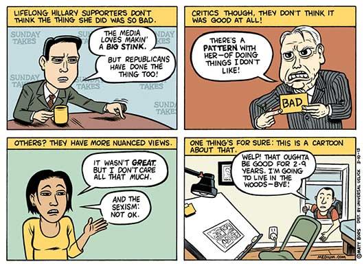 Clinton-presser