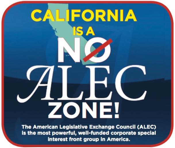 Jul 22 – Action Alert: Protest ALEC in SanDiego